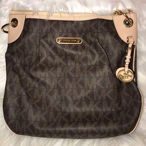 Authentic Michael Kors Brown Hand Bag